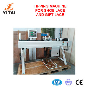 Automatic Plastic Shoelace Metal Shoe Lace Tipping Machine