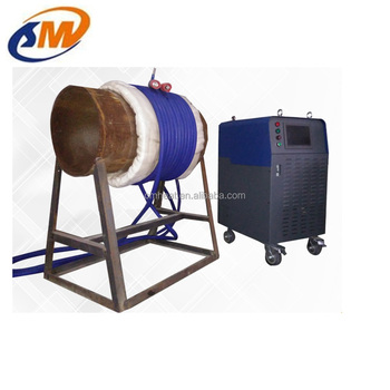 Induction post-welding heat treatment machine