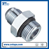 Available reliable hydraulic nipple fitting with zinc plated