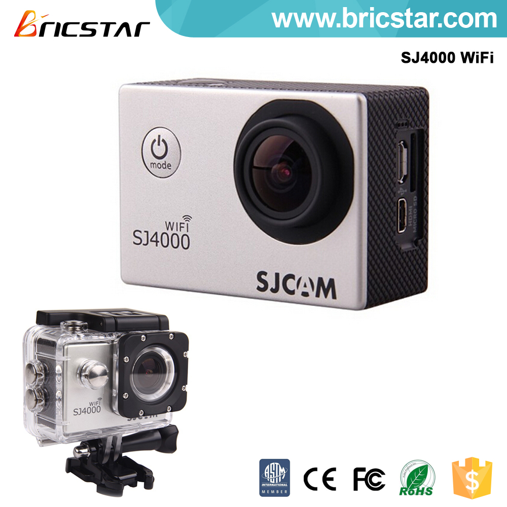 WiFi 1080P Full HD Action waterproof sport camera sj4000 remote control diving 30m under water