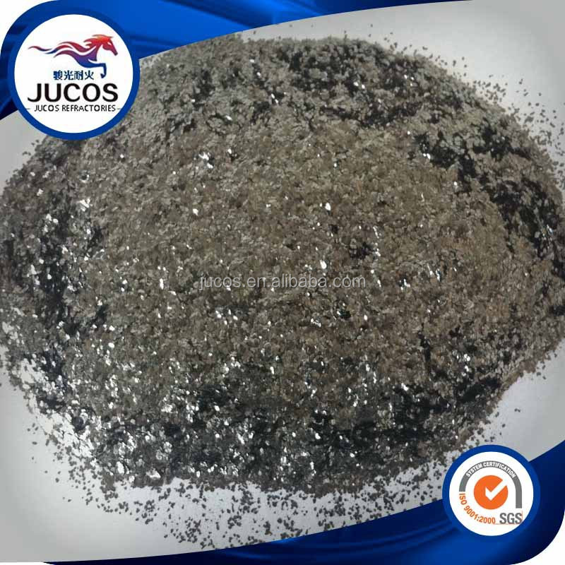 Crystal flake graphite power for refractory industry