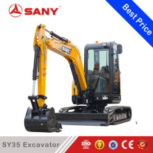 SANY SY35U 3.5t Small Mini Crawler Excavator of rc Hydraulic Excavator for Sale