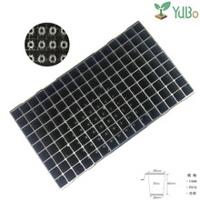 High quality deep black plastic 144 cells seedling tray seed germination tray wholesale