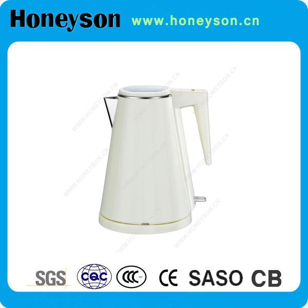 Honeyson cordless induction low wattage kettle products for hotels