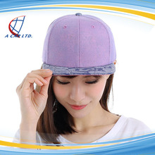 Hot Sale Fitted Fancy Lady's Snapback Hat Fashion Flat Brim Hat