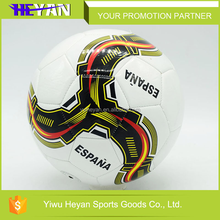 Hot selling 2016 football soccer balls professional pvc soccer , american football