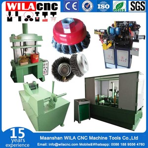 steel wire wheel brush making machines and complete production line