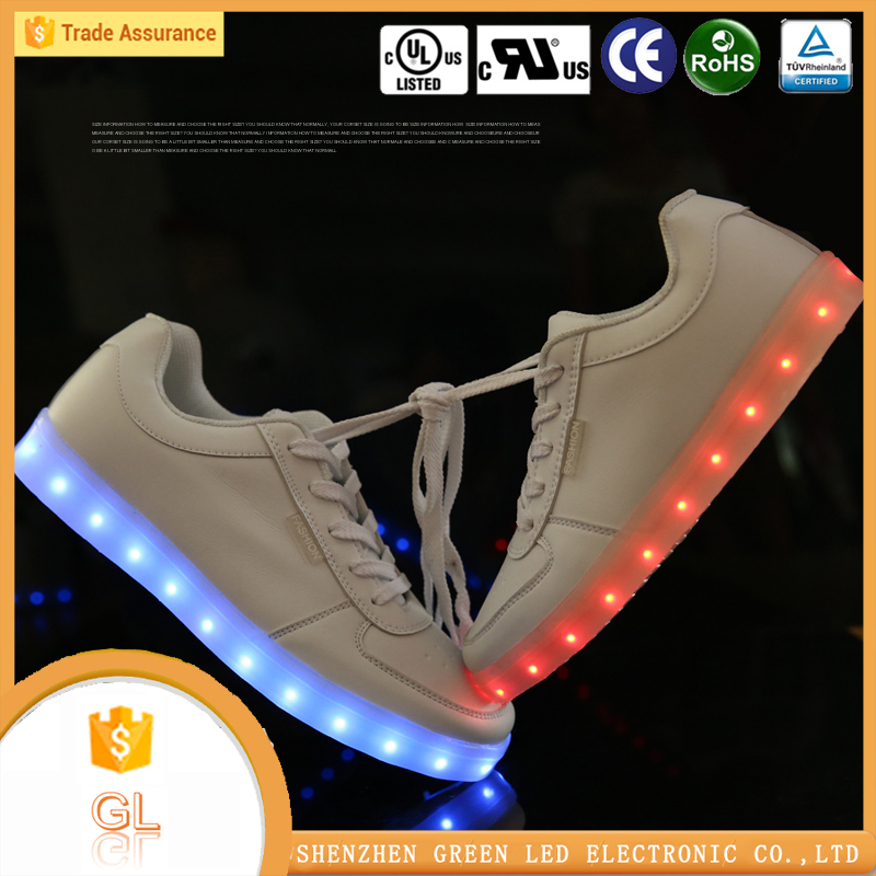 Shoes male factory online flashing sneaker buy shoes china