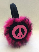winter fashion kids warm faux fur earmuff
