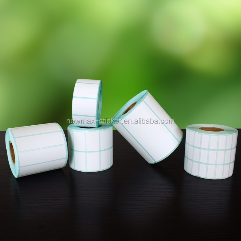 Custom Adhesive Thermal Paper Roll Sticker for Shipping Label