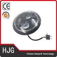 China manufacturers Motorcycles led headlight 7 inch 12v led head light for harley