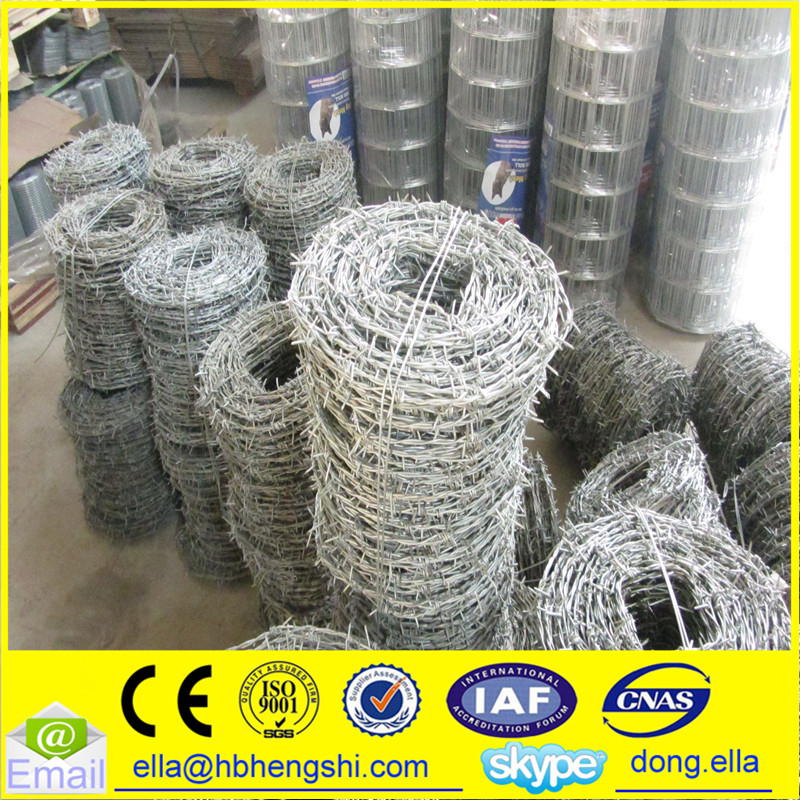 Used barbed wire for sale