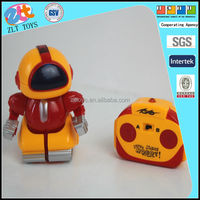 rc plastic mini robot toy for kid with ICTI certificate