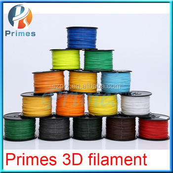 2017Primes ABS/PLA/HIPS/NYLON/PETG/PC 3d printing filament material