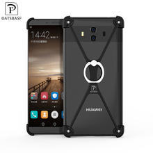 Promotional Black Custom Logo With Holder Smart Phone Back Cover Mobile Phone Case Cover For Huawei Mate10