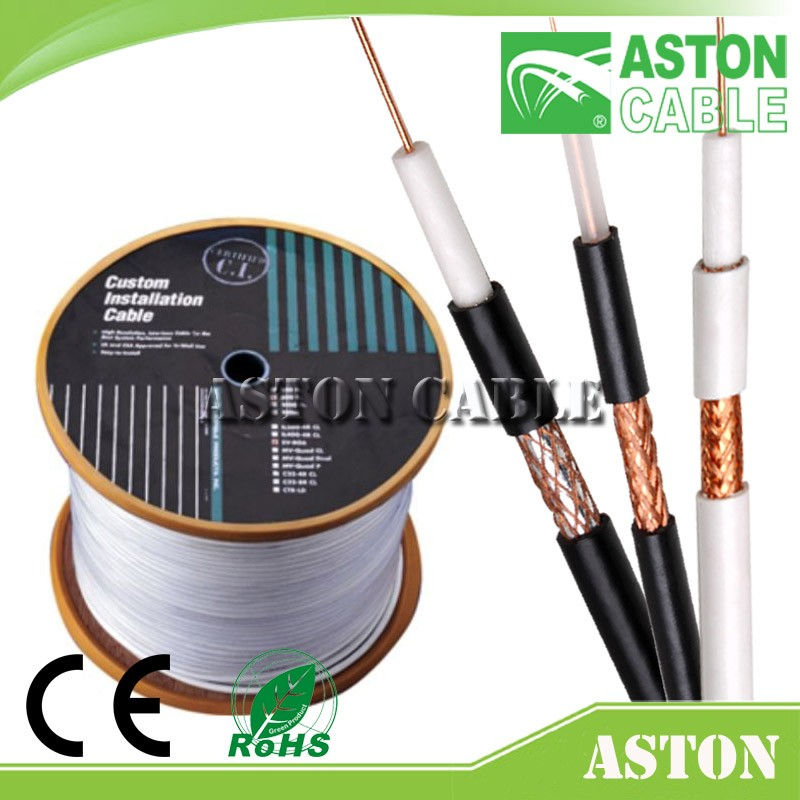 Factory Price High Quality RG6 Coaxial Cables CATV Satellite Antenna RG59 CCTV Cables of China Provider