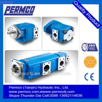 Whole sale HPT series hydraulic high pressure gear pump and motor