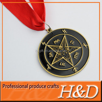 2013 Newest Antique brass metal souvenir medals