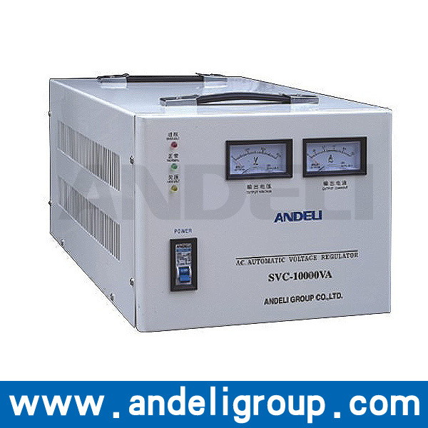 CE ROHS approved 10KVA svc single phase servo motor control 10kva ac automatic voltage stabilizer