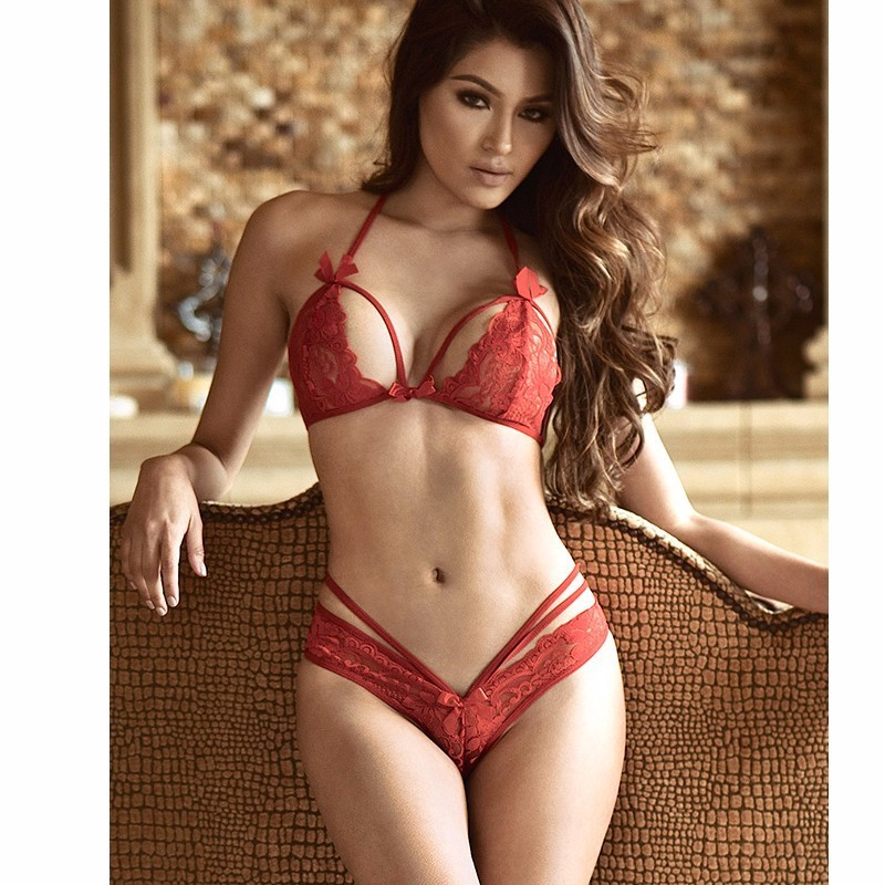 Wholesale China Sexy Underwear Women Sexy Lingerie Transparent Lace Sexy Lingerie