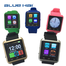 Factory Hot Selling OEM CE ROHS Smart Watch Phone With Anti-loss,Bluetooth 3.0 Android Smart Watch U8 Mobile Phone