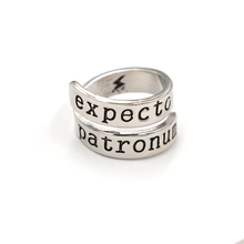 High Quality Hand stamped Jewelry Customized Silver Ring