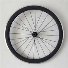 700c 55mm depth 25mm width clincher carbon road bike wheel set racing bicycle wheels