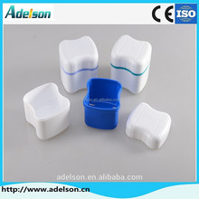 Hot-Selling European type plastic denture containers/Denture Storage Box K402