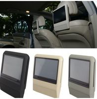 9'' mounted touch screen car headrest dvd