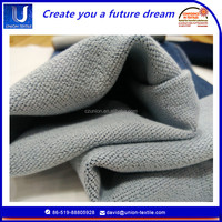 quality products fake knit denim fabric textile for children clothing