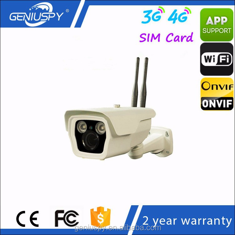 High Quality Cheap 1080P Wireless 2MP Sony 323 +Hi3516C Senor Outdoor Wireless 4G 3G Sim Slot IP Camera