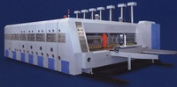 High speed auto printing slotting and die cutting machine GYMK series packing machine