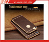 Electroplating Leather TPU Phone Case Soft Luxury Male Phone Case For Iphone 7 Cover Case