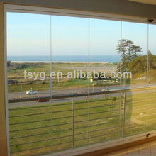 Balcony Glass Sliding Door YG-D78