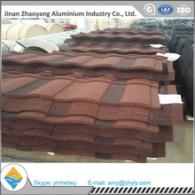 building material Classical colorful sand coated metal roof tile