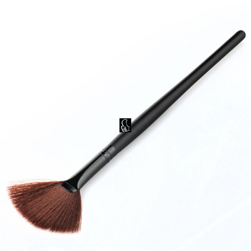 Wholesale cosmetics brush single foundation makeup brush,gross black single foundation makeup/cosmetic