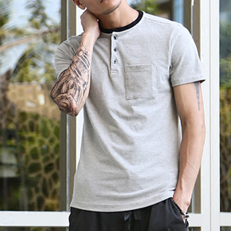 New Fashion Mens polo <strong>shirt</strong> Brand Cotton short-sleeve Polo Henry homme Casual Loose Breathable Fitness Men polo <strong>shirt</strong>