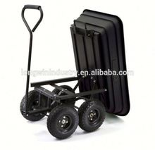 Easy go rubbermaid garden carts