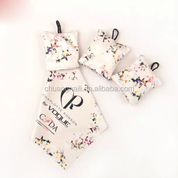 New Design Microfiber Mobile Phone Clean Cloth Key Chain