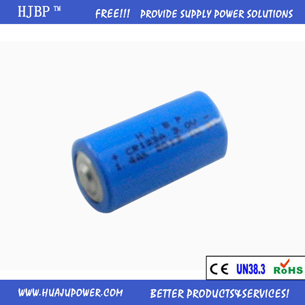 hot sale HJBP CR123A 3v dry cell battery