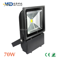 COB 70W led flood light Epistar/Bridgelux led IP65 Waterproof 90-277V 12V 3 years warranty 3000 lumen 70w rechargeable led flood