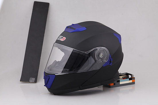 DOT approved motorcycle helmet Flip up helmet with sun visor double visors BLD-160