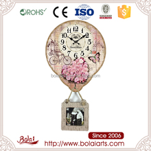 Factory directly pendulum shape description for a wall clock for hotel