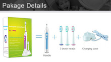 Dental Oral Care Travel Use Oral Hygiene Battery Power Fresh Electric Toothbrush