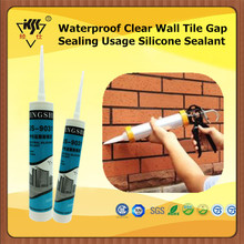 Waterproof Clear Wall Tile Gap Sealing Usage Silicone Sealant