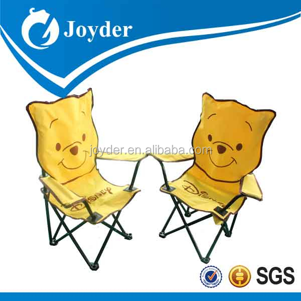 hot sale popular children love animals portable folding beach chair with armrest