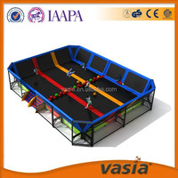 professional trampoline used in trampoline park