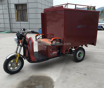 2016 Dayang newest heavy load enclosed cabin electric tricycle cargo bike for sale in South America