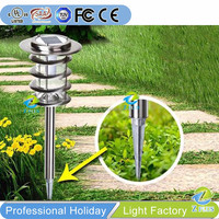 High Lumen Solar garden lighting pole light