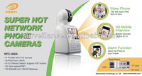 IP phone camera with WIFI SD card audio